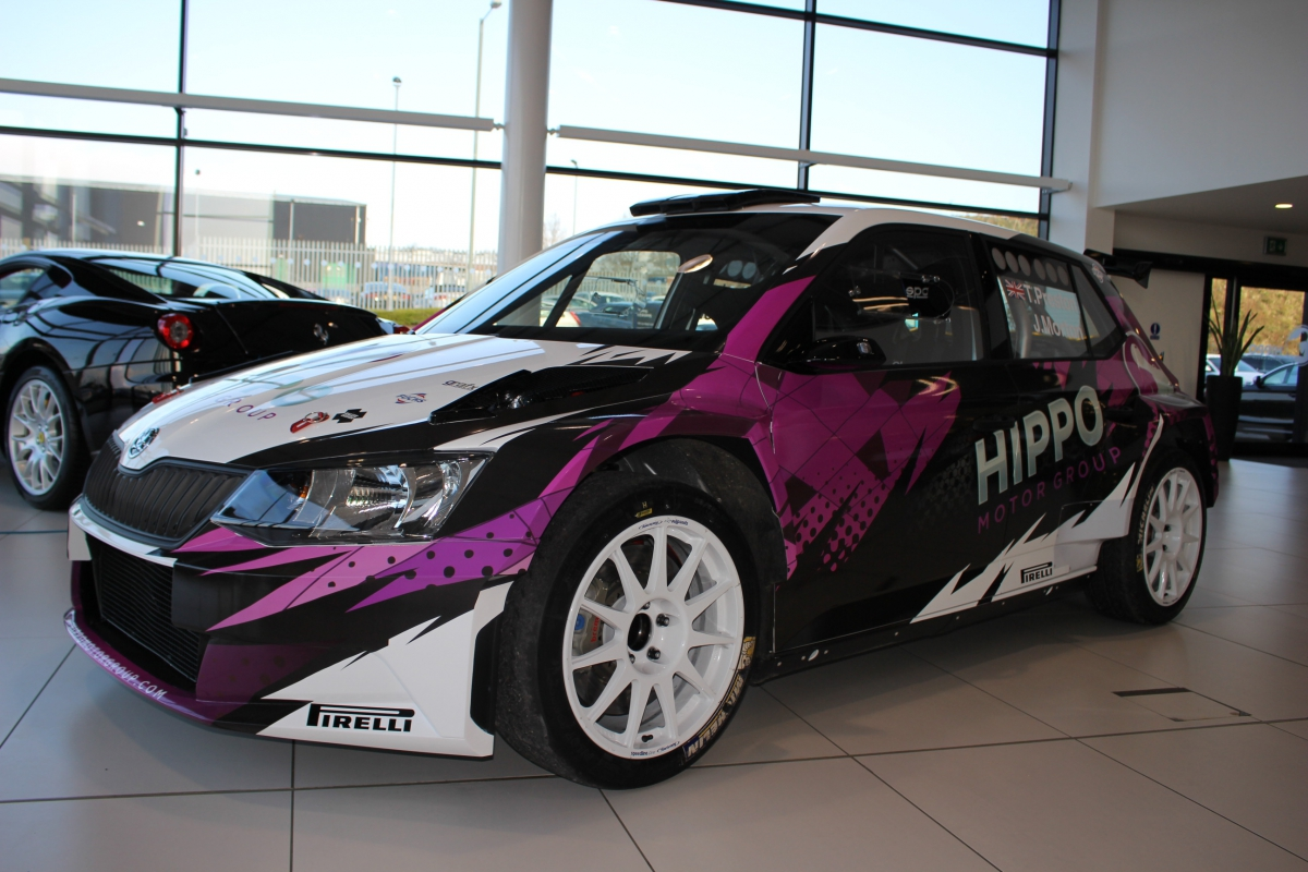Hippo Motor Group Rally Car